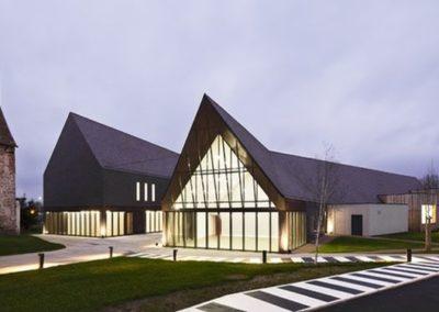 construction espace culturel gournay en bray abc decibel acousticien paris ile de france gerard kotingan