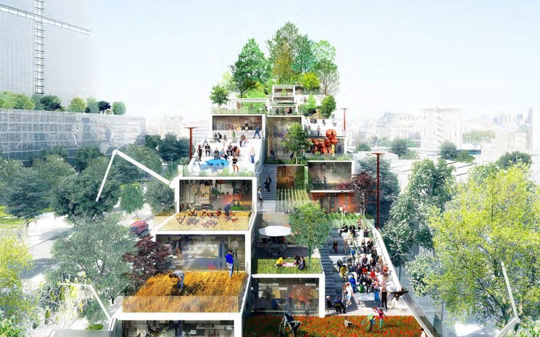 Inventer les bureaux de 2030 : une écomachine !