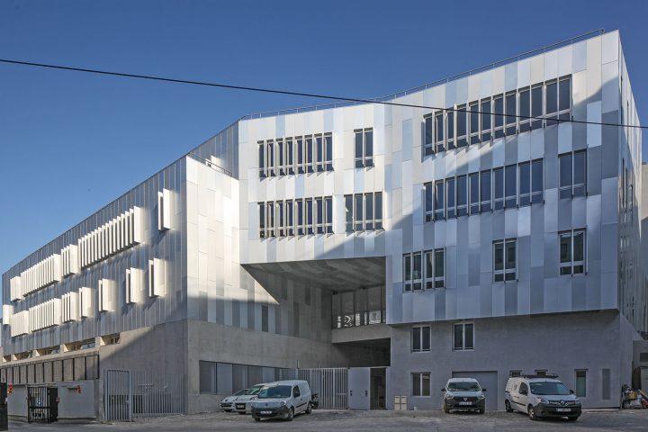 construction college centre sportif zac clichy batignolles paris abc decibel acousticien paris ile de france gerard kotingan