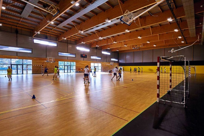 Construction d'un complexe sportif à Poitiers