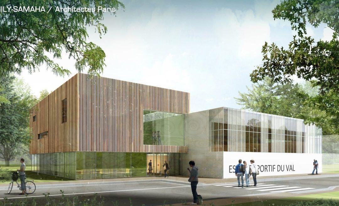Construction d'un espace sportif à Bezons