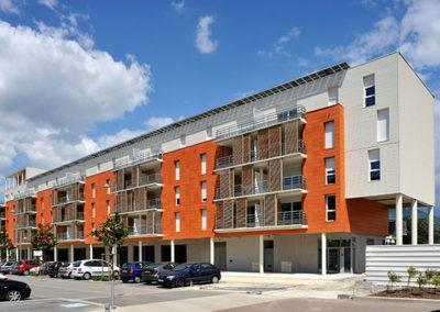 construction immeuble logements echirolles abc decibel acousticien lyon rhone alpes gerard kotingan