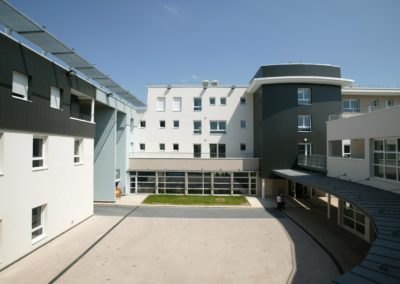 construction institut medico educatif ime jean paul evry abc decibel acousticien paris ile de france gerard kotingan