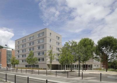 construction residence etudiante guyancourt abc decibel acousticien paris ile de france gerard kotingan