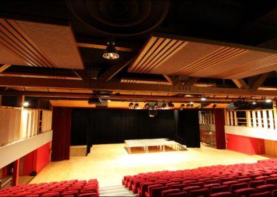 construction salle de spectacle lencloitre abc decibel acousticien poitiers poitou charentes gerard kotingan