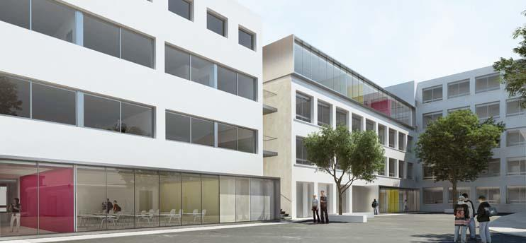 restructuration restauration lycee andre boulloche