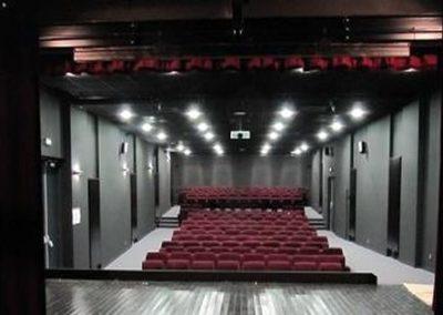 restructuration salle polyvalente saint vincent sur graon abc decibel acousticien nantes pays de la loire gerard kotingan