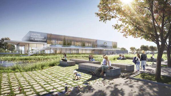 PARIS 2024 – Centre aquatique du Parc des Sports de Marville (93)
